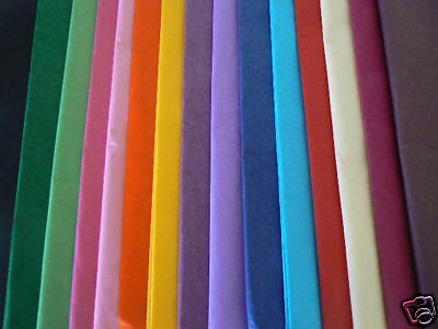 50 Sheets of Coloured Tissue Paper- Mixed Pack