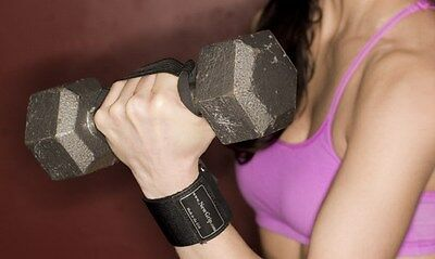 Pair of NewGrip Weight Lifting Gym wrist support wraps straps replacement