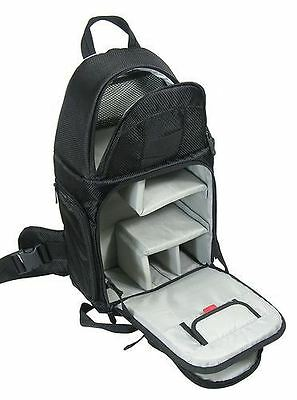 Camera Bag Backpack Rucksack Sling Pack for DSLR Inc Raincover