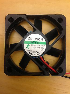 Sunon MB50100V2-000U-A99 FAN 50X10MM 5VDC 1.18W 11CFM- Buy 2 fans receive 1 free