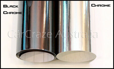 Chrome Vinyl Wrap Car Auto Roof Film Foil - PREMIUM - A4 Sheet