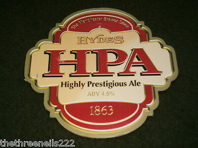 Beer Pump Clip - Hydes Hpa