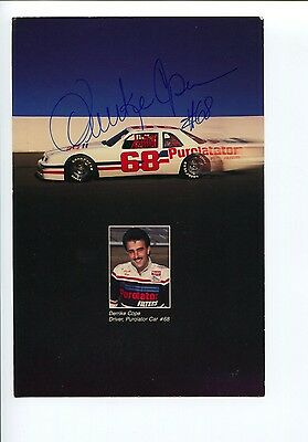 Derrike Cope NASCAR Daytona 500 Winner Sprint Cup Driver Signed Autograph Photo