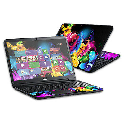 "Skin Decal Wrap for Dell Inspiron 15 i15RV Laptop 15.6"" Bright Life"