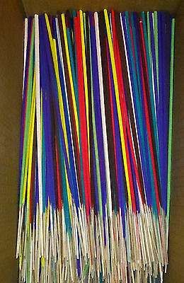 Mixed Incense Sticks Coloured in 100s Assorted Bulk Flavours