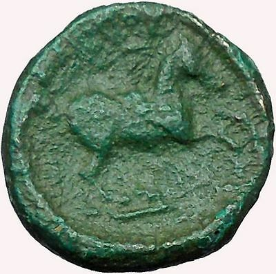 Philip II Alexander the Great Dad OLYMPIC GAMES Ancient Greek Coin Horse  i33632