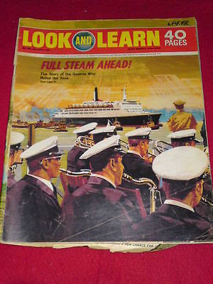 LOOK and LEARN - FULL STEAM AHEAD - April 10 1971