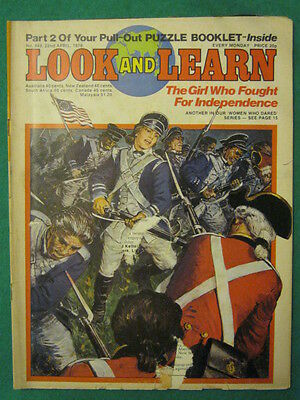 LOOK and LEARN - GIRL WHO FOUGHT FOR INDEPENDENCE - 22 April 1978