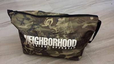 Neighborhood NBHD Camo Messenger Bag x Cool Trans Japan Mag Appendix  Premium