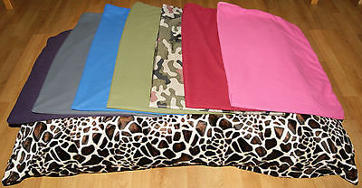 DOG PET BED PILLOW MATTRESS Spare COVER ONLY Zipped