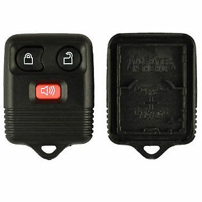 New Replacement Keyless Alarm Remote Shell Pad Key Fob Case 3 Button for Ford