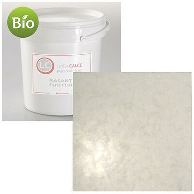 Polished Fine Lime Putty Decorative Plaster 100% Natural Mineral Marmorino, 20KG