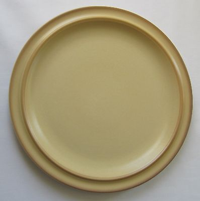 Goebel One Dinner Plate Castel Pattern Yellow Mustard Color West Germany