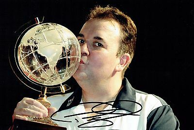 Phil The Power TAYLOR Signed 12x8 Autograph Photo AFTAL COA No 1 Order of Merit
