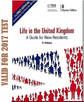 Life in the UK Test United Kingdom Official 3RD EDITION For 2016 Exam Book-LF 3