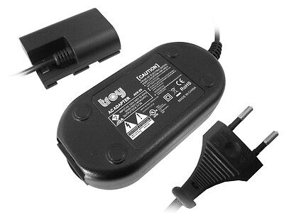 Netzteil Adapter Powercord für Canon EOS 70D EOS 80D ACKE6  ACK-E6 Full Decoded