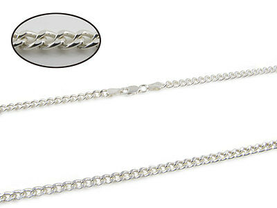 925 Sterling Silver 14 16 18 20 22 24 28 Inch Curb Figaro Snake Chain Necklace