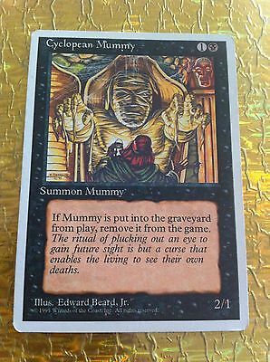 4 x Card MTG - Cyclopean Mummy  -  Fourth Edition