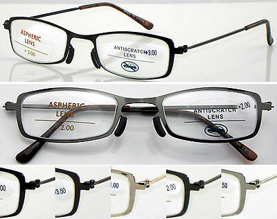 L388 Superb Quality Reading Glasses & NO WELDING Steel Frame/Very Simple Durable