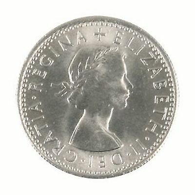 Choose date Wedding, Anniversary Birthday Lucky Sixpence Genuine Coin (XLUCK6)