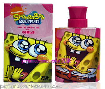 Nickelodeon Spongebob Squarepants Girls  Marmol & Son Inc 3.4 Oz Edt Spray Nib