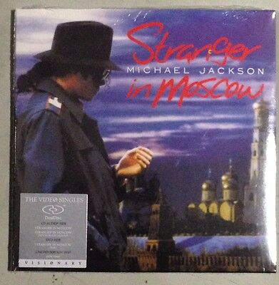 MICHAEL JACKSON - STRANGER IN MOSCOW  - DualDisc CDs/DvDs - SEALED - MINT!!