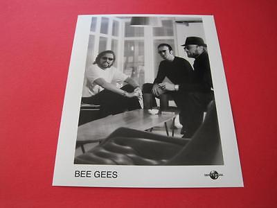 THE BEE GEES  original 10x8 inch promo press photo photograph 365-1