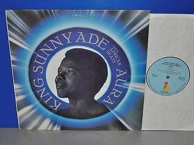 King Sunny Ade - AURA USA '84 Island sounds clear and strong Vinyl LP cleaned