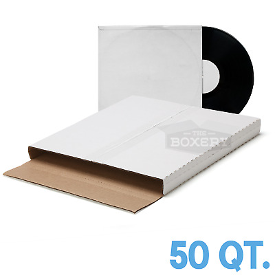 50 ~ ( PREMIUM ) LP VINYL RECORD ALBUM BOOK or BOX MAILERS