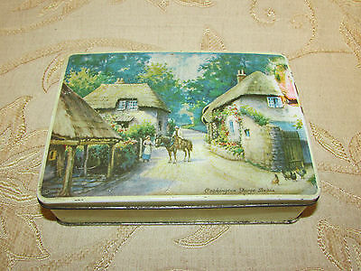 Vintage Collectable Parkinson's Tin Box - 1950's