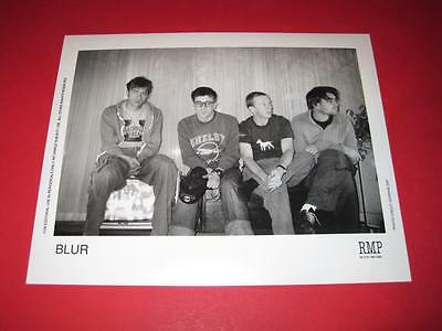 BLUR  original 10x8 inch promo press photo photograph 517-2