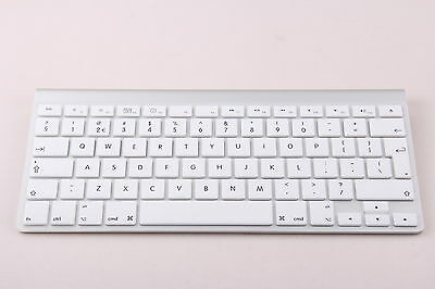 White UK/EU Silicone keyboard Cover Protector for Apple iMac, Macbook Pro