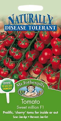 Mr Fothergills - Vegetable - Tomato Sweet Million F1 - 15 Seeds