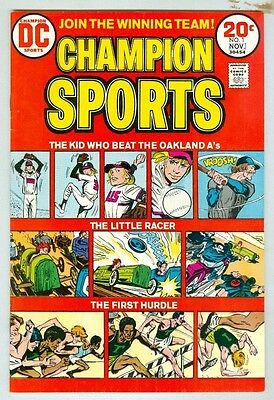 Champion Sports #1 October 1973 FN