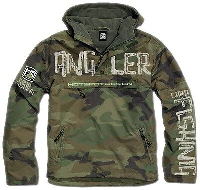 Hotspot Angler Jacke Hybrid Carpfishing wasserdicht Camouflage - the new trend!