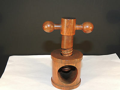 Wooden Nut Cracker over 4 inches tall Made in France (4273)