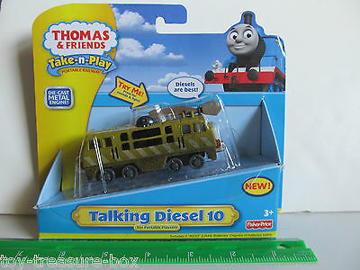 Thomas & Friends Take-n-Play or Take Along TALKING DIESEL 10 Vehicle - AGES 3+