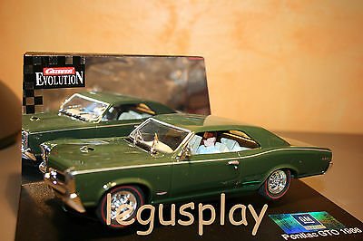 Slot SCX Scalextric Carrera 25444 Evolution Pontiac GTO 1966 - New