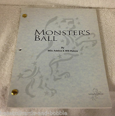 MONSTER'S BALL 2001 MOVIE SCRIPT SCREENPLAY Lions Gate Films Halle Berry