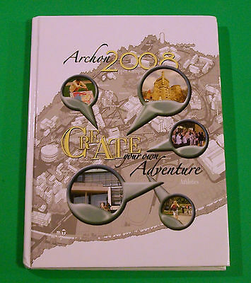"""Original Brandeis University Year Book Class Of 2008 """"The Archon"""" Yearbook"""