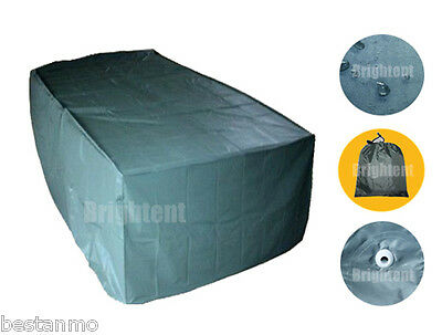 6 Seater Garden Patio Table Cover Waterproof Outdoor Furniture Shelter BS15N