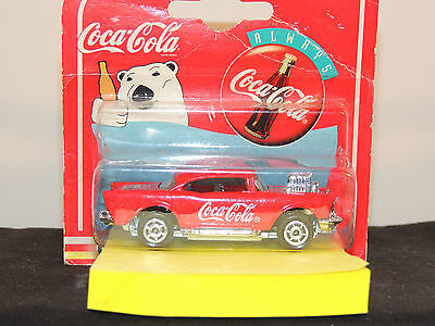 Coca-Cola 1997 Die-Cast 57 Chevy in original package by Majorette (5926)