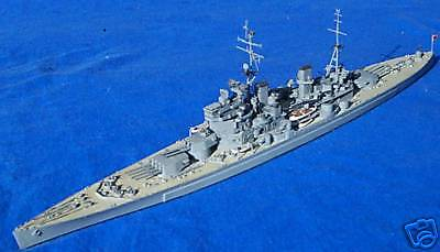 1:700 WWII Battleship BB/CV Ship Model Kit Building Service