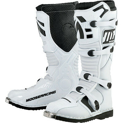Botas Offroad Moose Racing M1.2 White Mx Boots