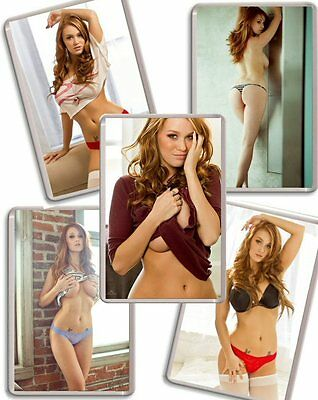 Leanna Decker Fridge Magnet Chose from 8 Images FREE POSTAGE Playboys CGOY 2012