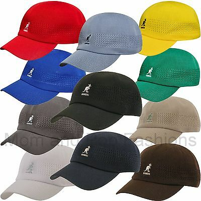 6ee36b2d9 100% AUTHENTIC MENS KANGOL Tropic Ventair Spacecap Hat 1456BC Sizes ...