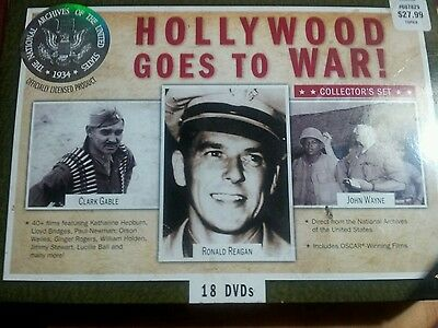 Hollywood Goes to War! Collector's Set (DVD, 2011, 18-Disc Set)