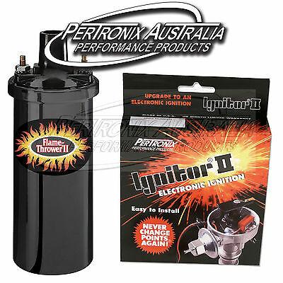 Pertronix Ignition II KIT & COIL PACK: Toyota Landcruiser 2F & 3F #61446202