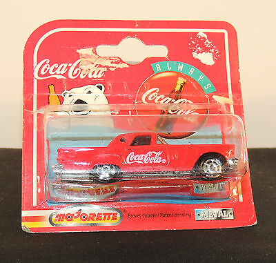 Coca-Cola 1997 Die-Cast 57 Ford Thunderbird in original package Majorette (5908)