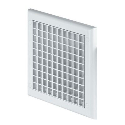 Air Vent Grille 190mm x 190mm Square Ceiling Wall Ventilation Cover Grid TP1